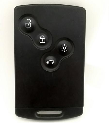 tipos de llaves de coches tarjeta